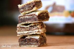 העוגיות של מוּרמוּר בצק פריך עם נוטלה