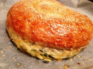 מתכון לבורקס עם עלי מנגולד ובורקס עם גבינה