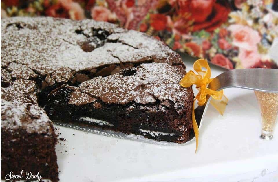 עוגת שוקולד עם עוגיות אוראו