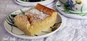 עוגת הקסם עוגת לימון