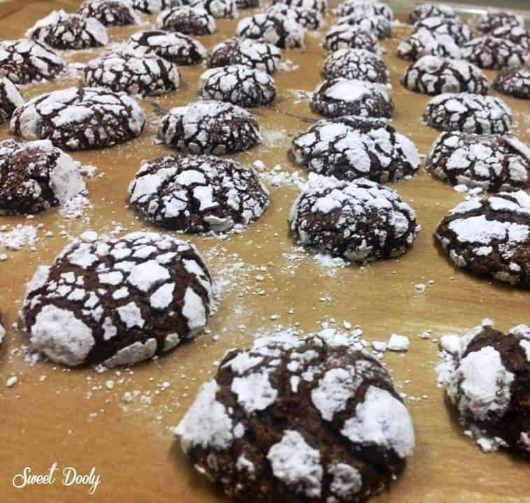 עוגיות שוקולד שמתאימות לשלג