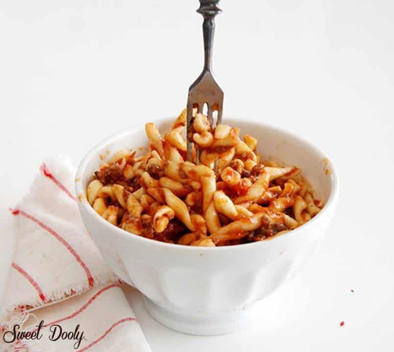 מתכון מושלם לספגטי בולונוז עם בשר מיוחד לילדים