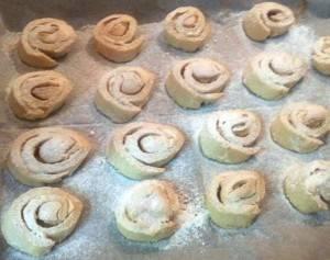 עוגיות שושנים נוסטלגיות