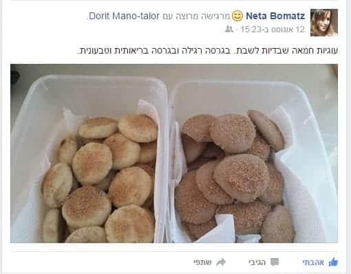 עוגיות שבדיות של נטע
