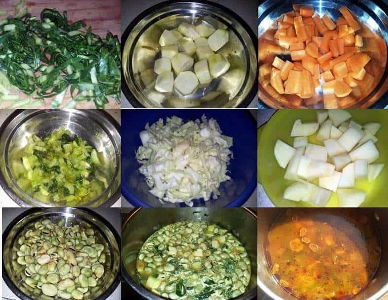 mahlata soup