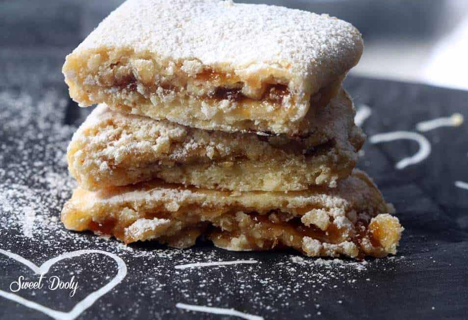 עוגיות מגולגלות עם ריבה riba1