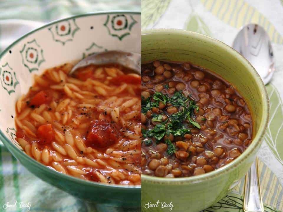 מרק עדשים או מרק פתיתים פידאו איזה מרק תאכלו?