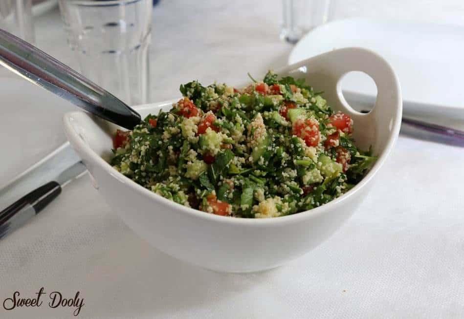 סלט טבולה עם ירקות