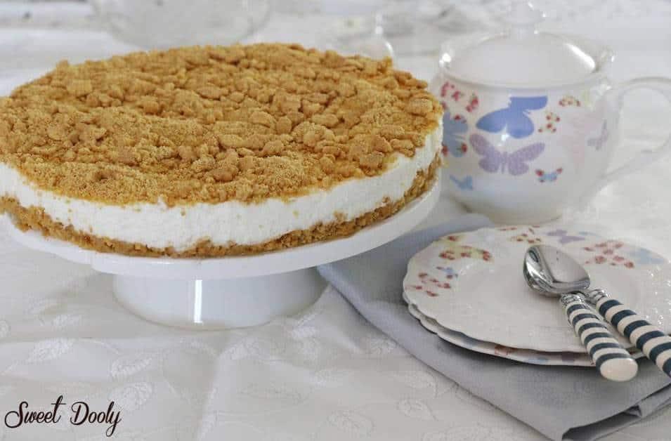 עוגת גבינה פירורים ללא גלוטן 2