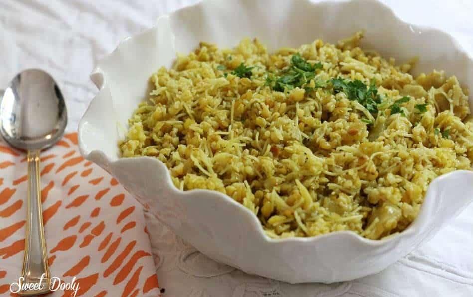 פריקי עם אטריות אורז