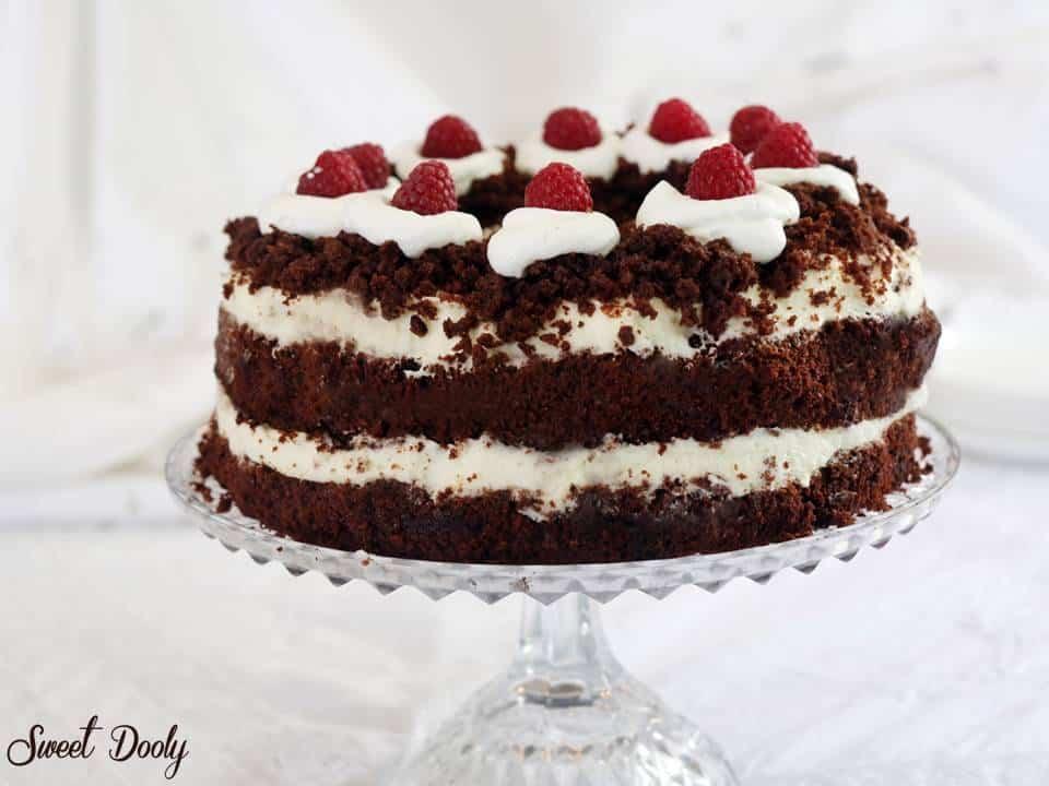 עוגת שוקולד ליום הולדת