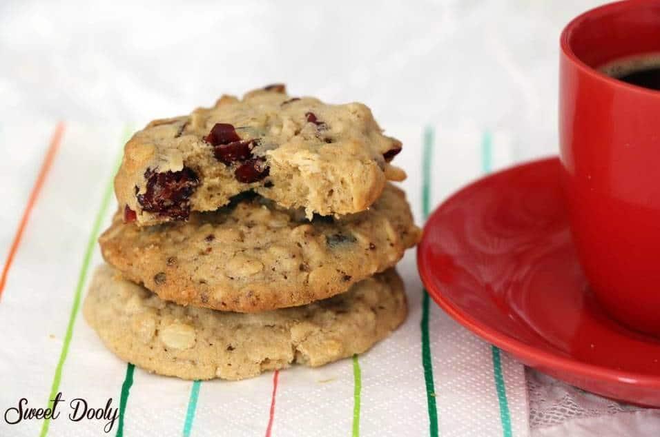 עוגיות שיבולת שועל עם טחינה