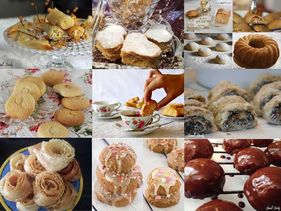 מבחר עוגות ועוגיות אחרי הצום