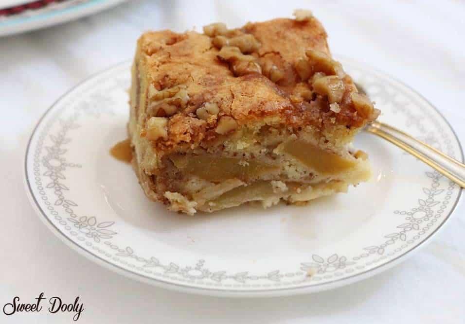 עוגת תפוחים בחושה2
