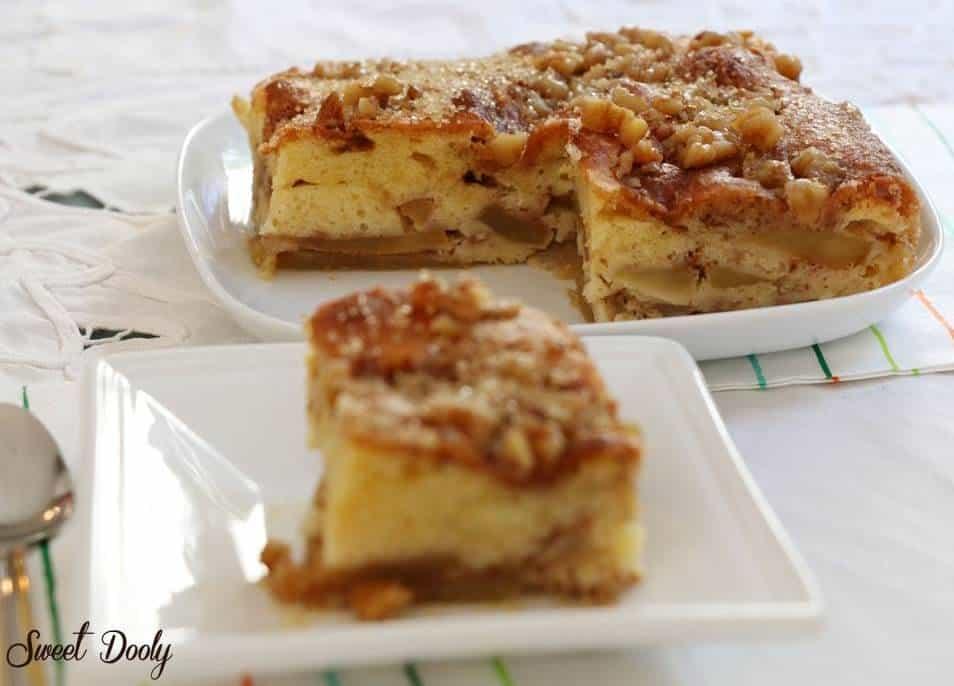 עוגת תפוחים בחושה5