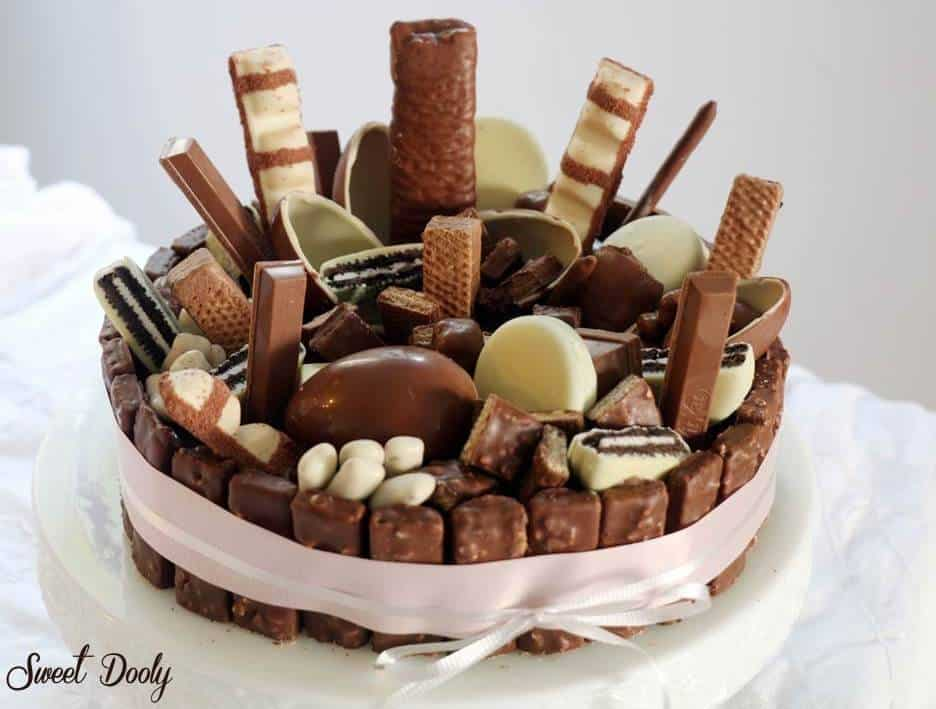 עוגת ממתקים ליומולדת