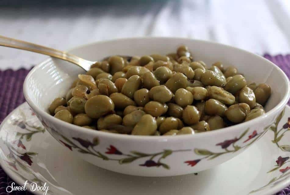 פול ירוק תבשיל ספרדי
