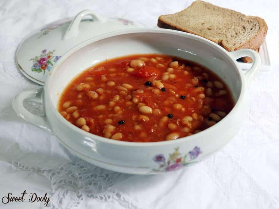 מרק שעועית של חורף