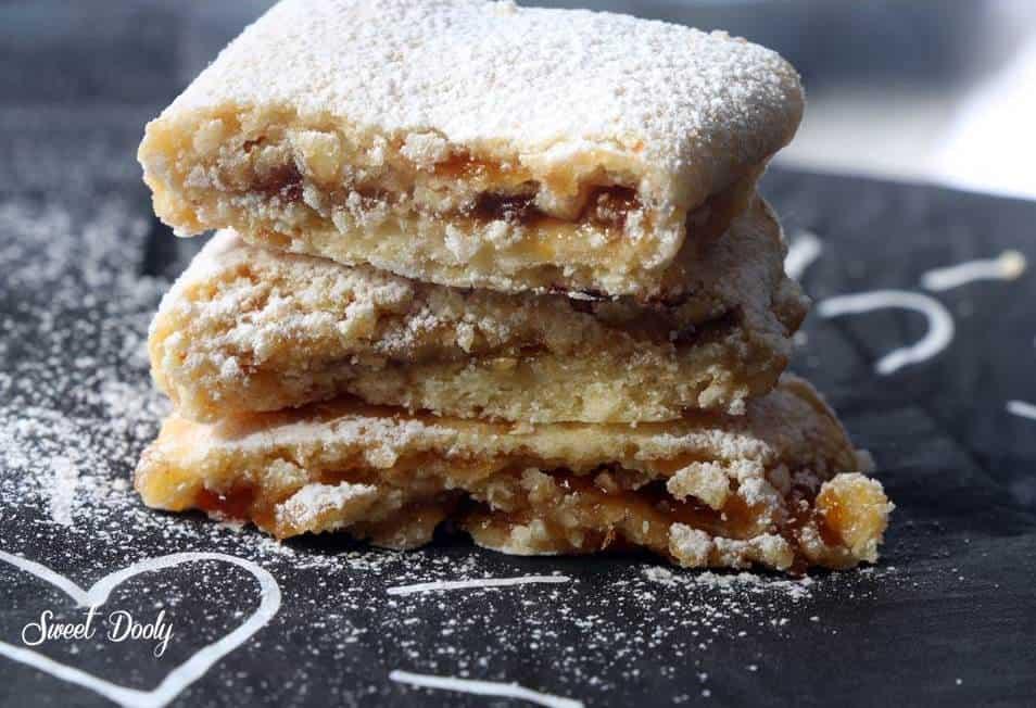 מתכון לעוגיות מגולגלות עם ריבה
