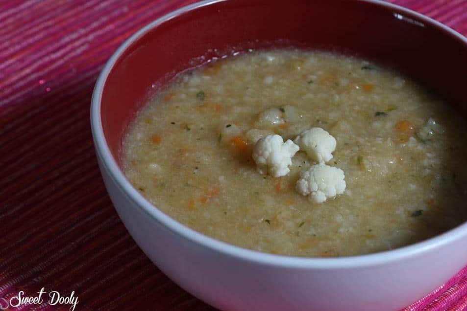 איך מכינים מרק כרובית עם גזר?