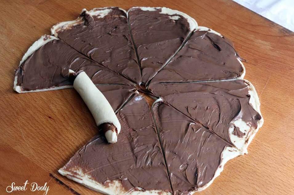 רוגלך שוקולד מבצק שמרים