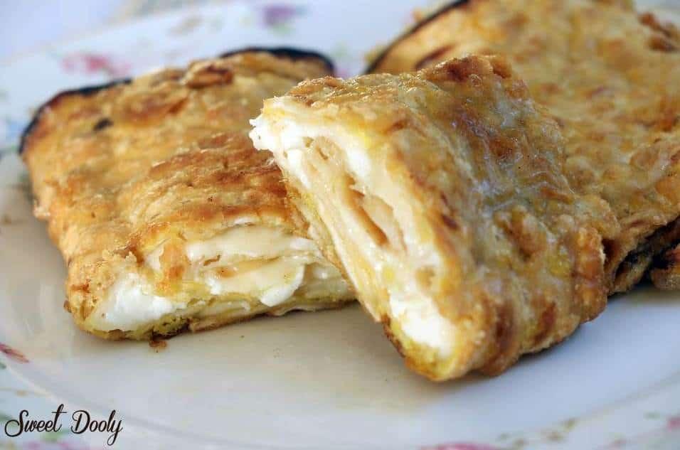 מצות מגולגלות עם גבינה