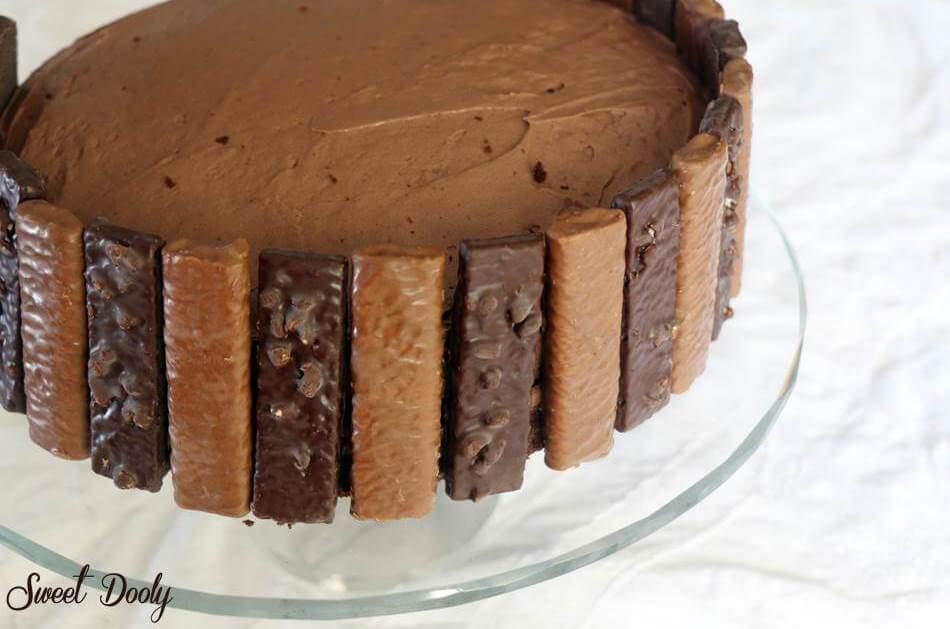 עוגת שוקולד ליומולדת גרביטי קליק
