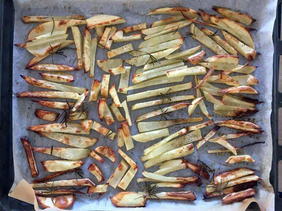 איך מכינים צ'יפסים אפויים בתנור