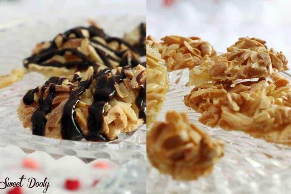 עוגיות שקדים משלושה מצרכים
