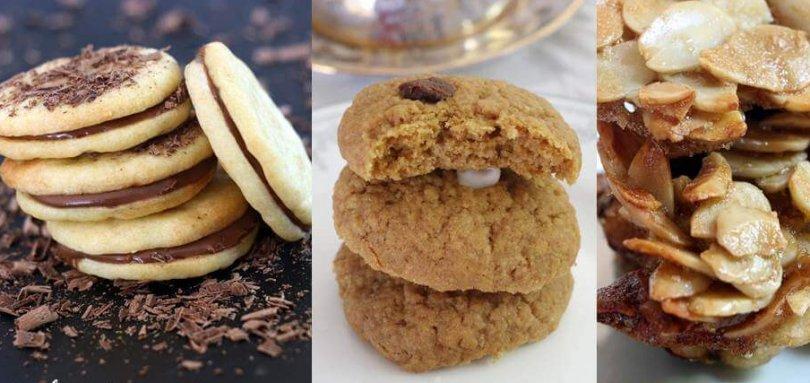 עוגיות משלושה מרכיבים