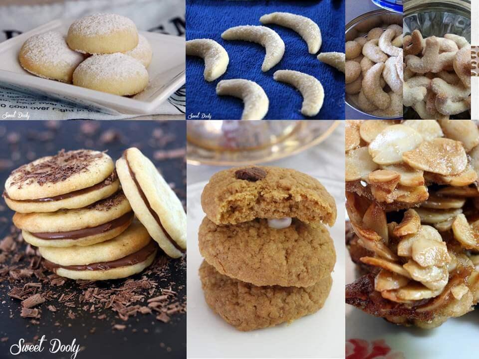 מתכונים לעוגיות משלושה מרכיבים בלבד