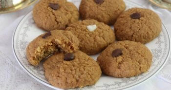 עוגיות חמאת בוטנים משלושה מרכיבים בלבד