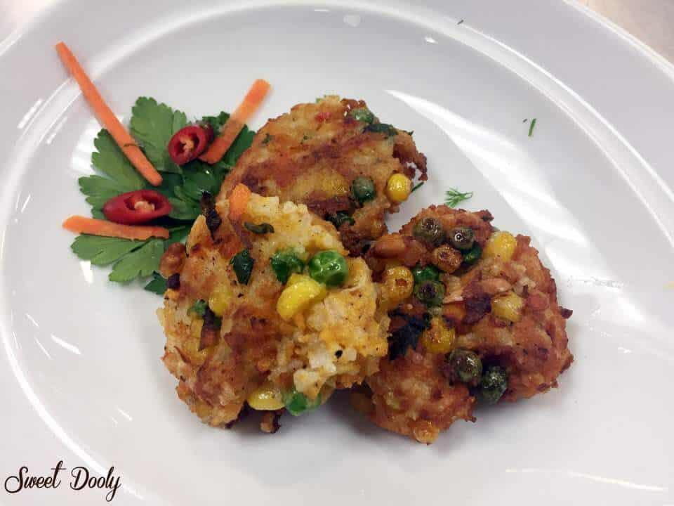 קציצות אורז עם ירקות
