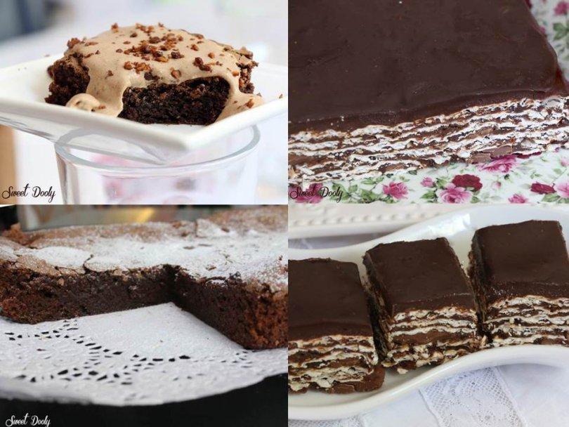 עוגות שוקולד של פסח