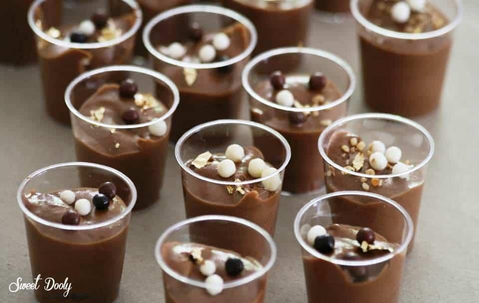 מוס שוקולד משני מצרכים ללא ביצים