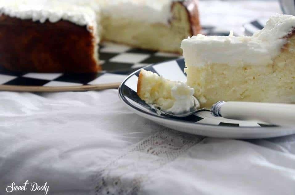עוגת גבינה אפויה אלוהית ללא גלוטן