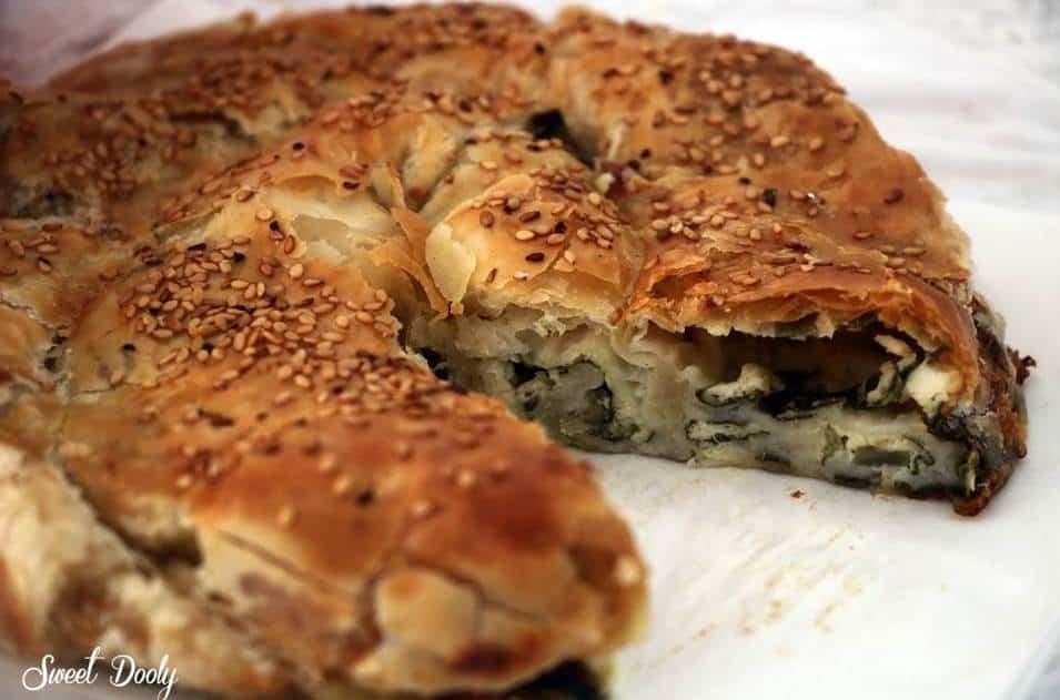 שבלול בורקס בצק מנגולד עם גבינות