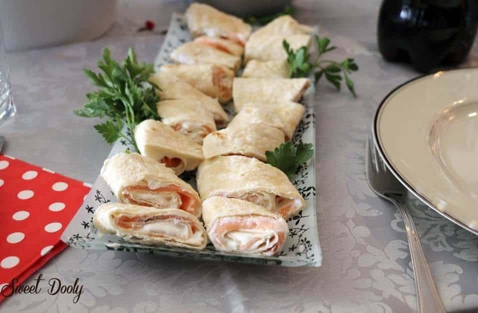 מתכון לטורטיות עם גבינה וסלמון