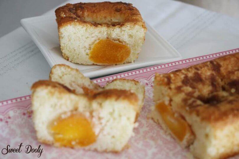 עוגת משמשים בחושה רכה וטעימה