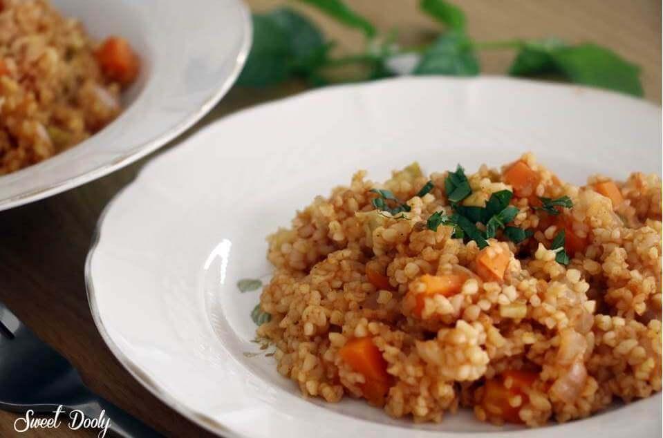 שולבטה תבשיל בורגול עם ירקות