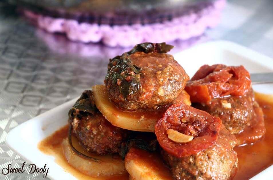 מתכון לקציצות בולט קציצות תוניסאיות ברוטב עגבניות
