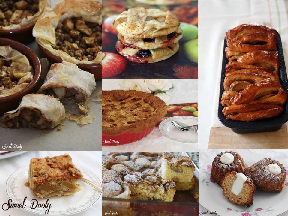 מבחר עוגות תפוחים לראש השנה