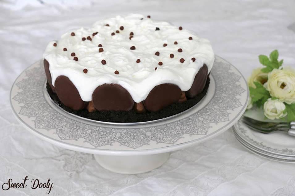 עוגת מוס שוקולד חגיגית