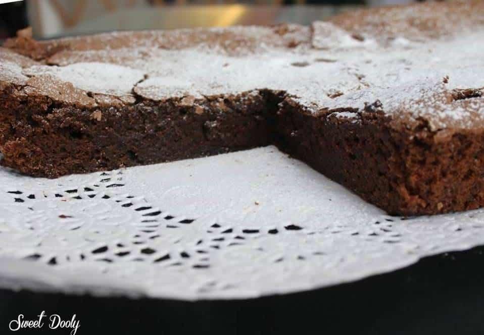 עוגת שוקולד ללא גלוטן ליומולדת של גיא