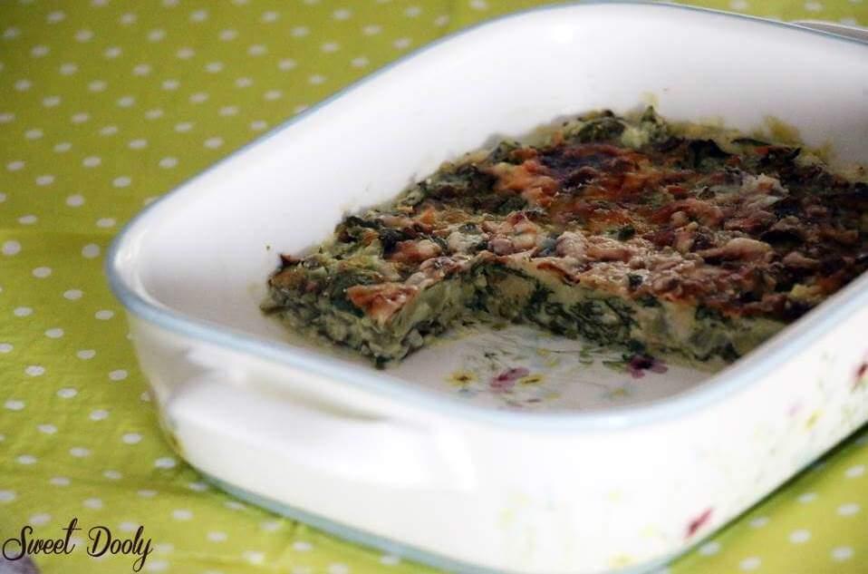 פשטידת מנגולד מהירה עם גבינות גם בגירסה ללא גלוטן