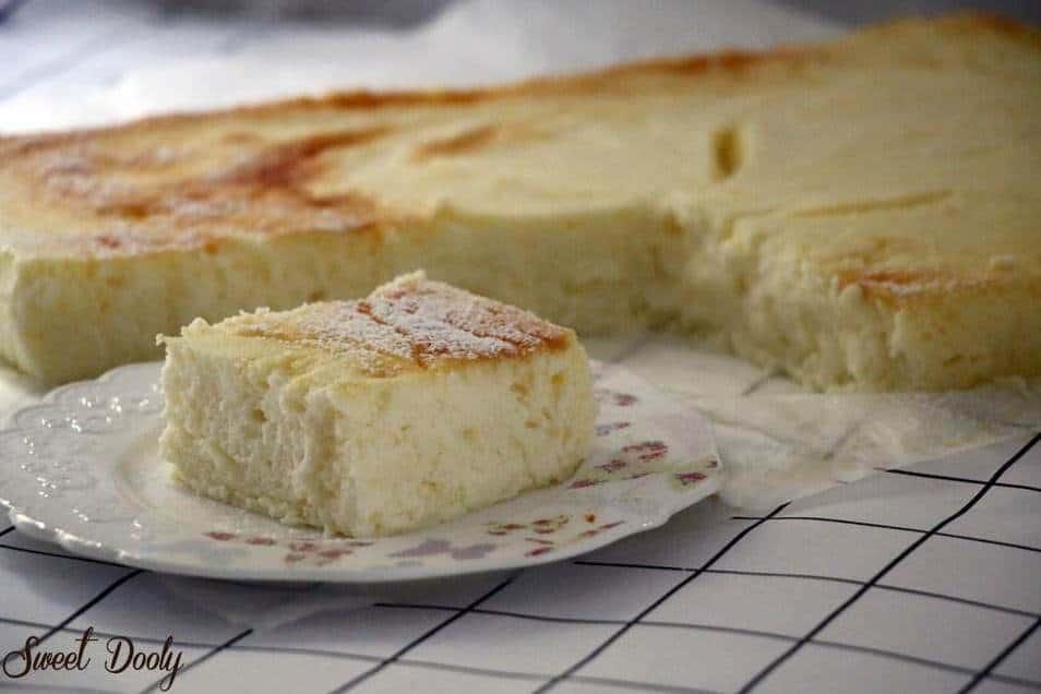 מתכון לעוגת גבינה חמה של בית מלון