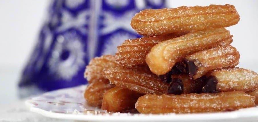 מתכון לצ'ורוס קל הכנה צ'ורוס סופגניות ספרדיות