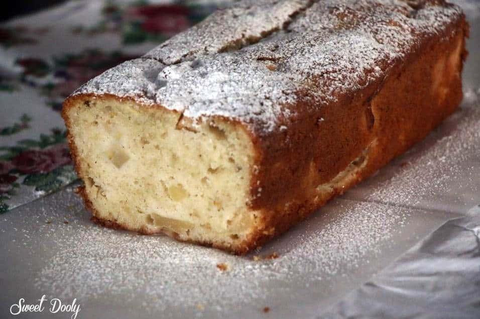 עוגת תפוחים בחושה מהירה מעולה וקלה להכנה