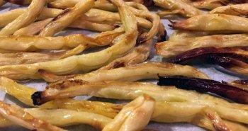 שעועית צהובה צלויה בתנור בטעם של צ'יפס
