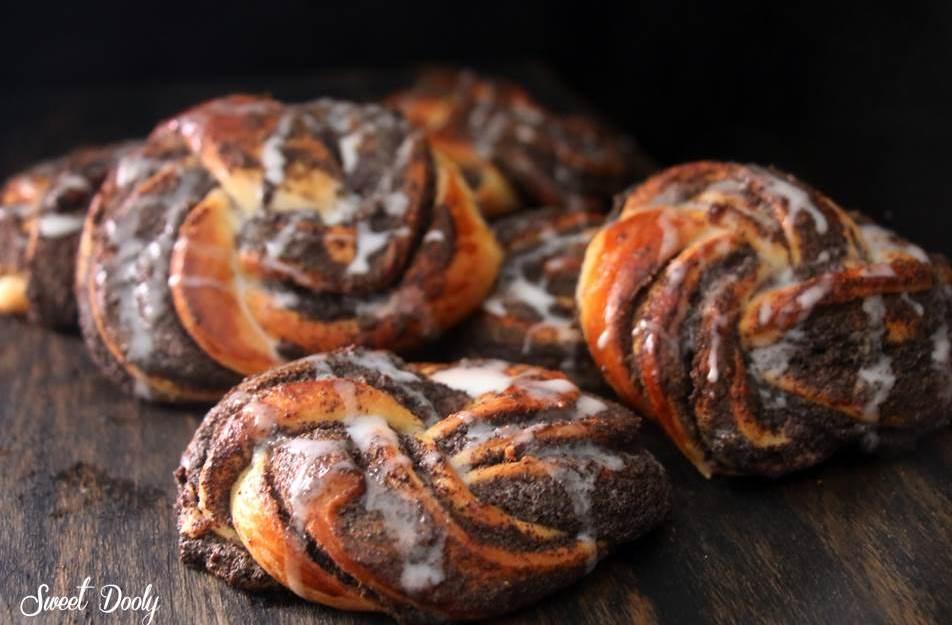 מתכון לעוגיות קרנץ שמרים עם פרג